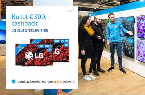 LG Televisies Cashback