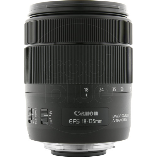 Canon EF-S 18-135mm f/3.5-5.6 IS USM