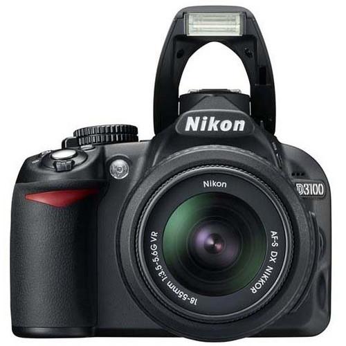 Nikon D3100 + 18-55 VR Lens