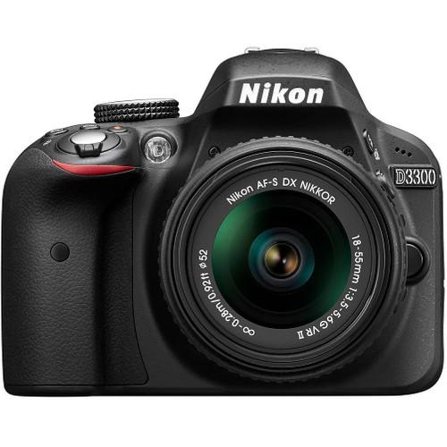 Nikon D3300 + 18-55mm f/3.5-5.6G VR II Zwart