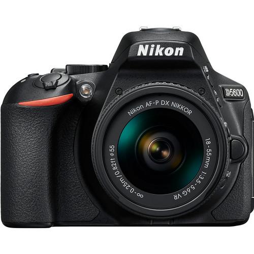 Nikon D5600 Kit Zwart + AF-P 18-55 VR
