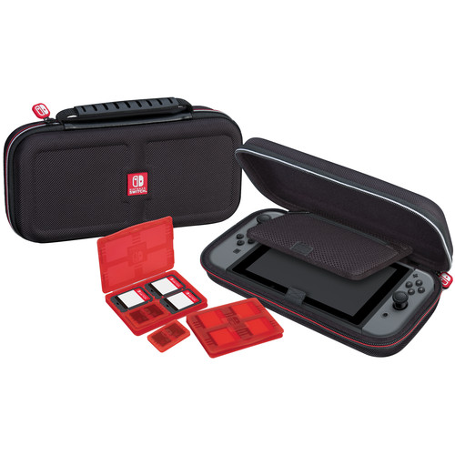 Bigben Nintendo Switch Travel Case Zwart