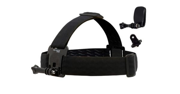 PRO-mounts Courroie de tête Mount SE : incl Quick Clip & Adaptateur pour caméra
