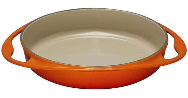 Le Creuset Gietijzeren Tarte Tatin Schaal 28 cm Oranje-rood