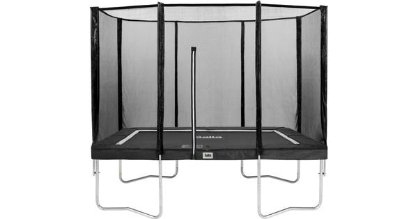 Salta Rechthoekig met Veiligheidsnet 152 x 214 cm Zwart
