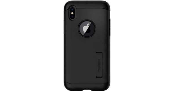 Spigen Slim Armor Apple iPhone X Back Cover Zwart