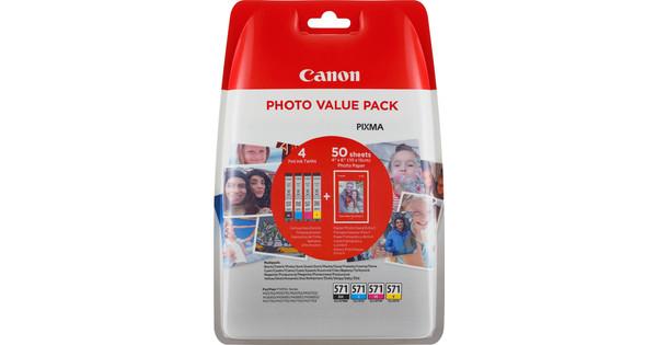 Canon CLI-571 Photo Value Pack (0386C006)