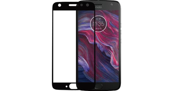 Azuri Motorola Moto X4 Protège-écran Verre trempé Lot de 2