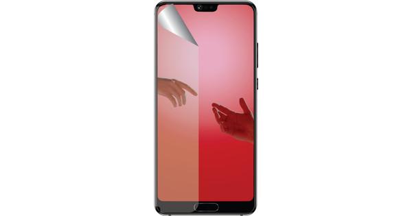 Azuri Protège-écran en Plastique Huawei P20 Pro Lot de 2