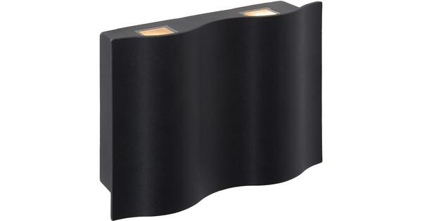 Lucide wave applique s noir points lumineux coolblue avant