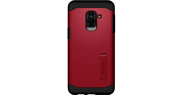 coque rouge a8 2018 samsung
