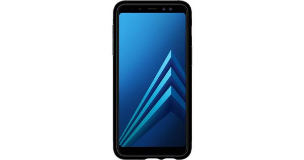 the best attitude 961d3 7cace Spigen Slim Armor Samsung Galaxy A8 (2018) Back Cover Zwart