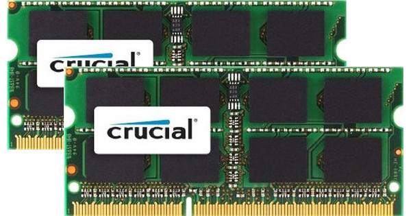 Crucial Apple 16 GB SODIMM DDR3L-1600 2 x 8 GB