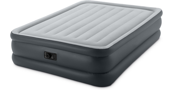 Intex Raised Downy Airbed Queen Gris