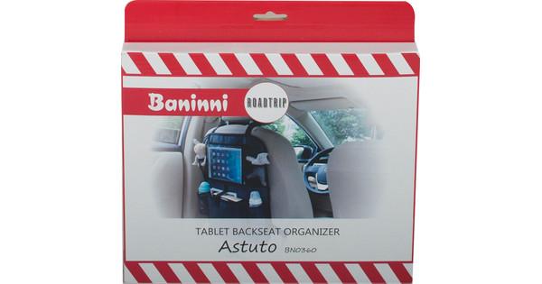 Baninni Organisateur de siège arrière pour tablette Astuto Noir