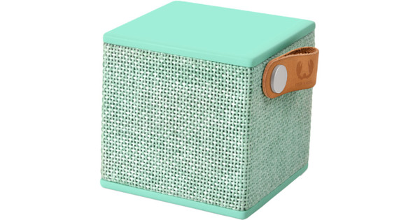 Fresh 'n Rebel Rockbox Cube Fabriq Edition Mintgroen