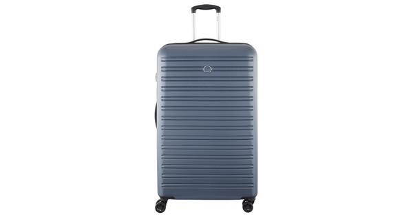 Delsey Segur 4 Wheel Trolley Case 82cm Blue