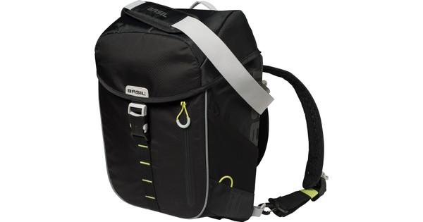 Basil Miles Daypack 17L Black Lime