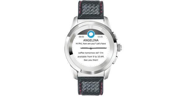 MyKronoz ZeTime 44mm Smartwatch Premium Zilver