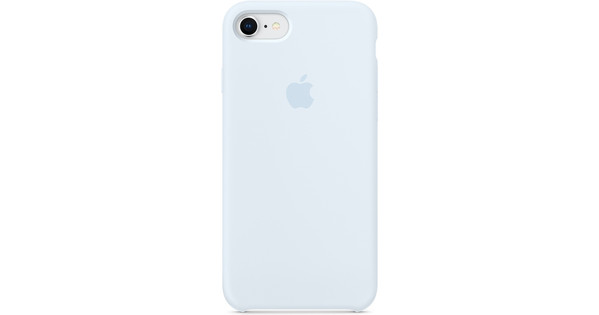 brand new 789f3 65744 Apple iPhone 7/8 Silicone Back Cover Sky Blue