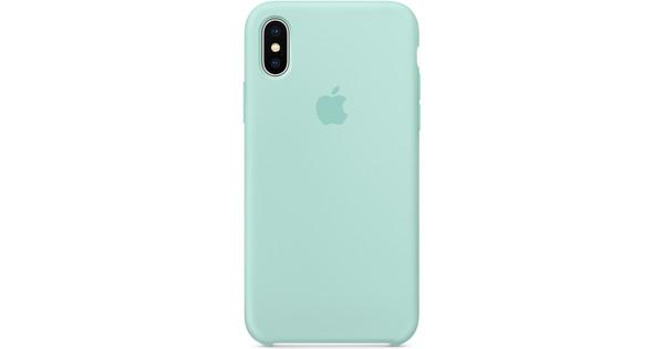coque silicone iphone x vert