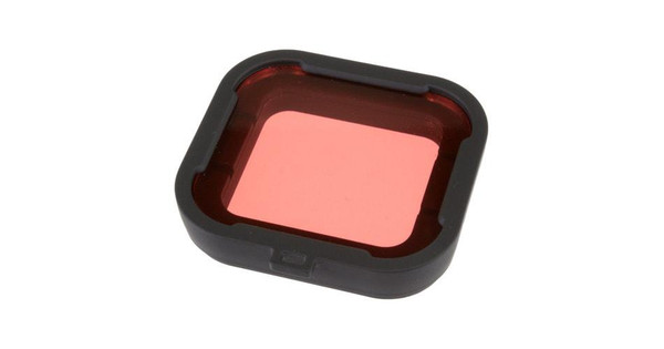 Polar Pro Aqua Red Filter voor HERO3+ en HERO4