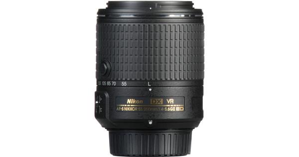 Nikon AF-S 55-200 mm f/4-5,6G ED VR II DX