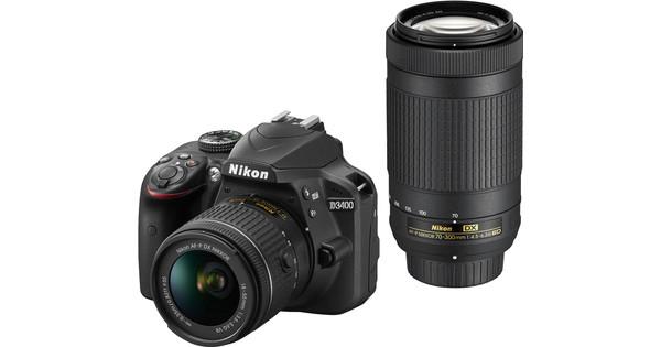 Nikon D3400 AF-P 18-55mm + 70-300mm