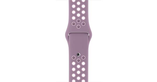 Apple Watch 38mm Siliconen Polsband Nike Sport Violet