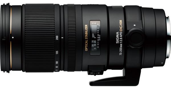 Sigma 70-200 mm f/2,8 APO EX DG OS HSM Canon
