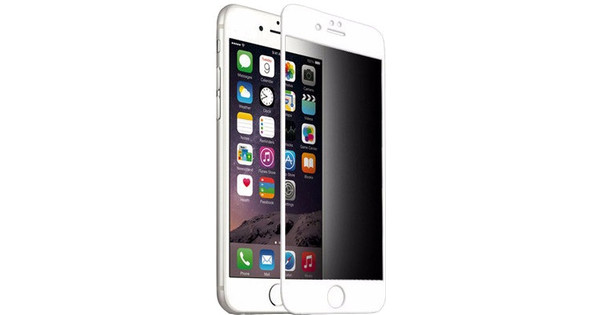 Pavoscreen Privacy en verre trempé pour Apple iPhone 6/6s Blanc