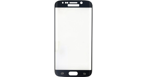 Mobilize Edge To Edge Glass Samsung Galaxy S6 Edge Zwart