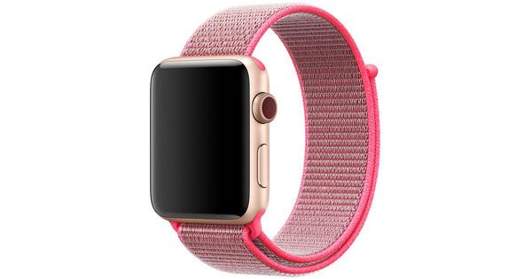 Apple Watch 38mm Nylon Sport Loop Horlogeband Knaloze