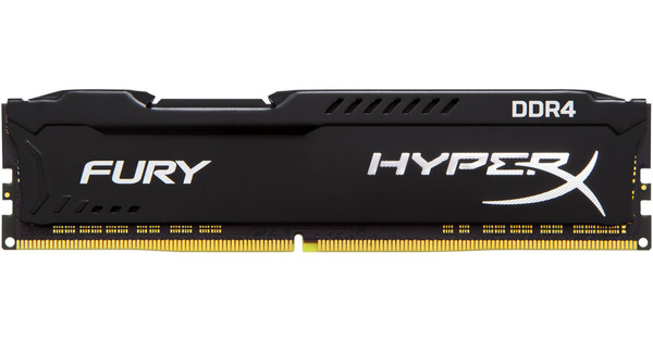Kingston Hyper X FURY Black 4GB 2666MHz DDR4 DIMM 1 x 4 GB