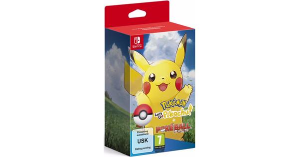 Pokemon Let's Go Pikachu Switch + Poké Ball Plus Pack
