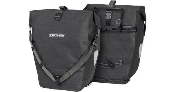 Ortlieb Back-Roller Plus QL2.1 Granite/Black (paar)