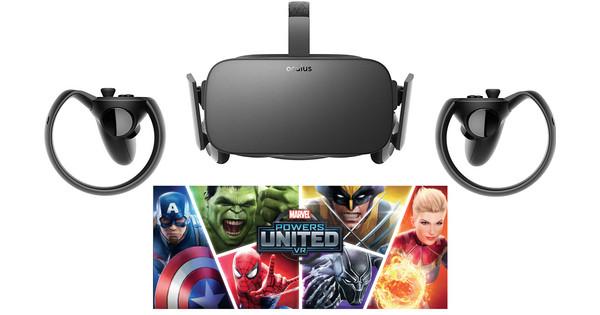 Oculus Rift Basispakket + Marvel game