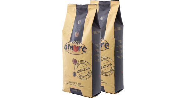 Caffe Con Amore Arabica koffiebonen 2 kg