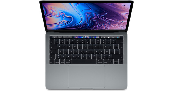 """Apple MacBook Pro 13"""" Touch Bar (2018) 16/256GB 2,7GHz Space Gray AZERTY"""