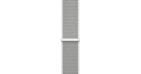 Apple Watch 38mm Nylon Sport Loop Horlogeband Wit