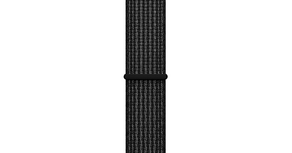 Apple Watch 38mm Nylon Sport Loop Horlogeband Grijs