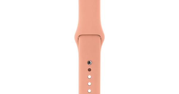 Apple Watch 38mm Siliconen Horlogeband Sport Flamingo