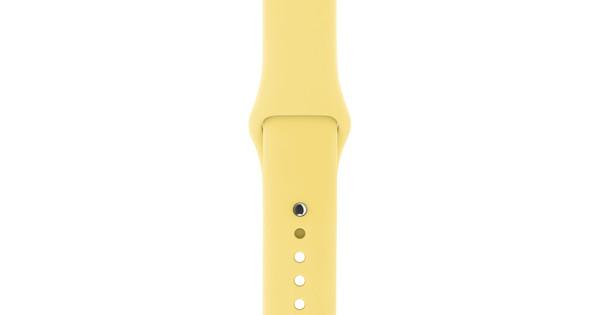 Apple Watch 38mm Siliconen Horlogeband Sport Pollen