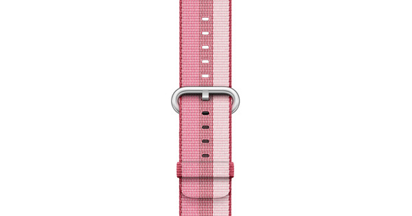 Apple Watch 38mm Nylon Woven Polsband Berry