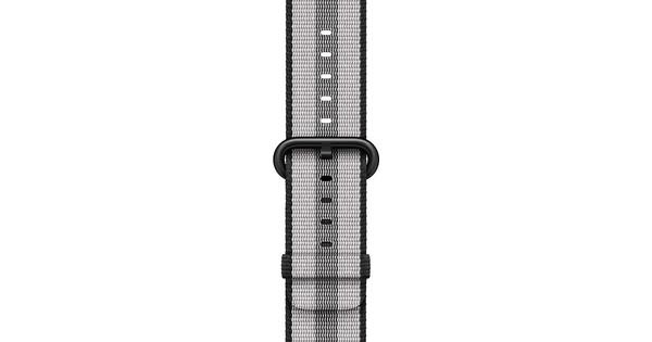 Apple Watch 38mm Nylon Woven Horlogeband Zwart
