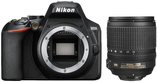 Nikon D3500 + AF-S DX 18-105mm f/3.5-5.6G ED VR