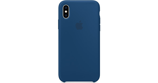 new style bd5d2 95276 Apple iPhone Xs Silicone Case Blue Horizon