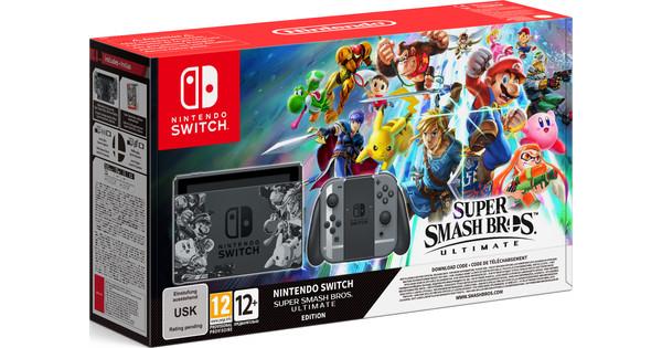 Nintendo Switch Super Smash Bros Ultimate Bundel