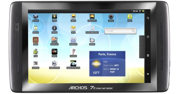 Archos 70 Internet Tablet 8 GB