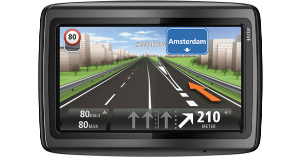 TomTom Via LIVE 120 + Tas + High Speed Multi Autolader